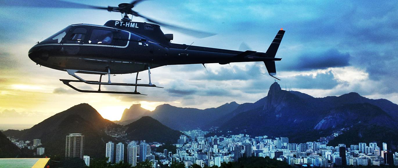 Exploring Rio de Janeiro by Helicopter